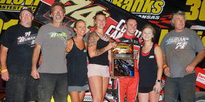 Bubak Blasts to Victory Lane in Belleville 305 Sprint Car Nationals Opener!