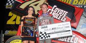 Bubak Romps for $7K Triumph in Inaugural Belleville 305 Sprint Car Nationals!