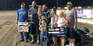 Hometown Hero Jeremy Campbell Captures Freedom Tour Finale at 81 Speedway!