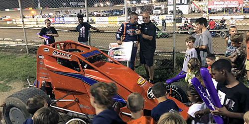 Davis Charges to Freedom Tour Glory in 81 Speedway Series Opener