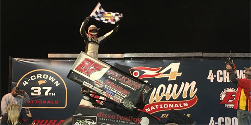 Reutzel One Step Closer to All Star Title after Four Crown Triumph!