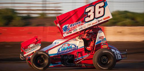 D.J. Bybee-Jason Martin Sprint Car Team to Dissolve – Martin Seeking Out New Opportunities