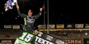 "Schatz Wins World of Outlaws ""Boot Hill Showdown"" at DCRP"