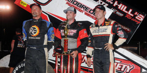 Hafertepe Wires the Field in I-30 Speedway's Short Track Nationals Opener
