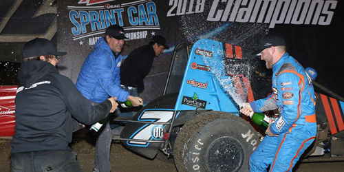 Sunshine's Travels Out West Net Western World Title and USAC Sprint Car Crown thus Far