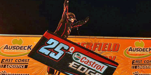 Scheuerle the Sure Thing in Australian Sprintcar Championship
