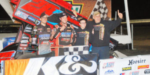Franek Flies to USCS Victory Lane at Bubba Raceway Park