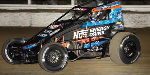Grant Tops Speed Charts at Winter Dirt Games Practice
