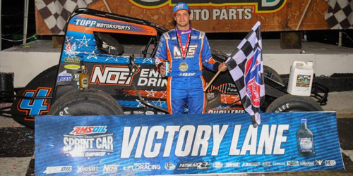 Grant Survives for Friday Night Triumph at Bubba Raceway Park