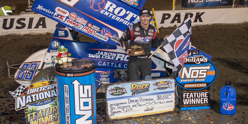 Pittman Makes it Two in a Row at DIRTcar Nationals