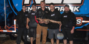 Pittman Captures Third Big Gator as DIRTcar Nationals Finale is Rained Out