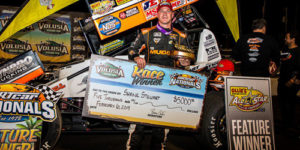 Shane Stewart Gets First Gator in DIRTcar Nationals Opener!