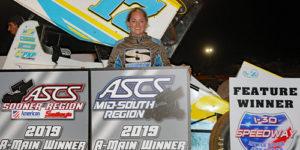 Ladies Night in Little Rock – Harli White Lands First ASCS Triumph