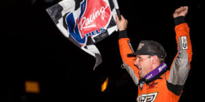 Ian Madsen Romps at Tulare