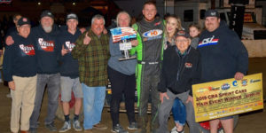Roa Rolls to USAC/CRA So-Cal Showdown Victory Lane
