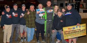 Roa Rolls to USAC/CRA So-Cal Showdown Victory Lane