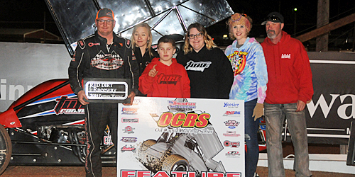 Wayne Johnson Wins a Wild One at Red Dirt Raceway
