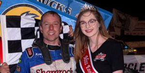 Kennedy Captures ASCS Opener at Eagle on the Last Lap