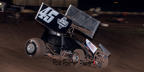 Carney Makes First Michigan Voyage after Capturing Sprint Car Bandits Win
