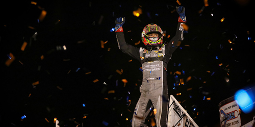 Larson Reigns in Battle of Illinois