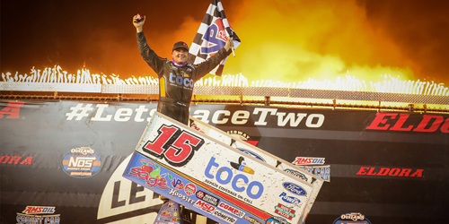 Schatz Goes Two for Two at Eldora