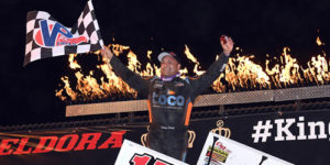 Schatz Back on Top at Eldora's Knight Before