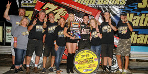 Bubak Banks Second Consecutive Belleville 305 Sprint Car Nationals Triumph!