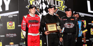 Giles Files First ASCS Win in Knoxville 360 Nationals Opener
