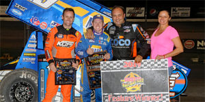 "Sweet Scores in World of Outlaws ""Boot Hill Showdown"" Finale at DCRP!"