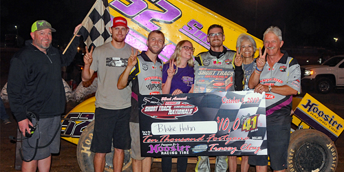 Blake Hahn Makes it Two in a Row at I-30 Speedway's Short Track Nationals!