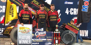Reutzel Wraps up All Star Title with Four Crown Triumph