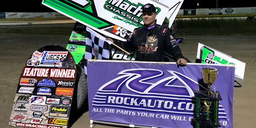 Mark Smith Sweeps USCS Weekend