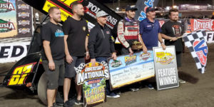 Reutzel Rebounds to Win DIRTcar Nationals Night Two
