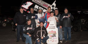 Forsberg Leads Cali ASCS Podium Sweep at Petaluma