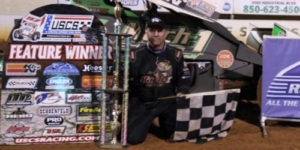 Mark Smith Stays Perfect in USCS Competition