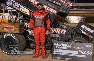 Hafertepe, Jr., Wins West Texas Crude Nationals Opener
