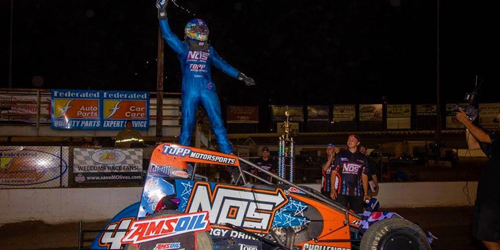 Grant Finishes Off USAC Weekend Sweep at Pevely