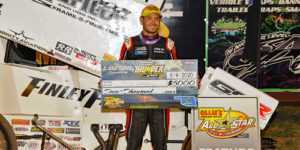 Larson Loots All Stars at Lawton