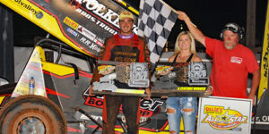 Reutzel Outlasts Larson in Thunder Through the Plains Instant Classic