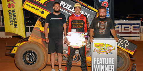 Reutzel Romps Over All Stars at Lonestar