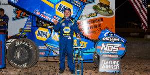 Sweet Swipes Last Lap Win at Beaver Dam