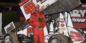 Dietrich Swipes All Star PA Swing Opener at Grandview