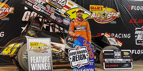 Gravel Reigns for $52K Win at Eldora