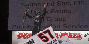 Larson Wins Again – Tops Weldon Sterner Memorial at Lincoln