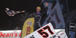 Larson Wins the Dirt Classic