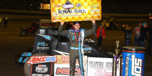 Ruble is a Haubstadt Hustler – Claims First USAC Win