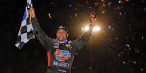 Schatz Back in Victory Lane with Plymouth Triumph