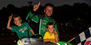 Stockon Snares First USAC Win of the Year