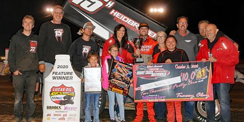 Hafertepe Reaches Short Track Nationals Pinnacle with $10,041 Score!