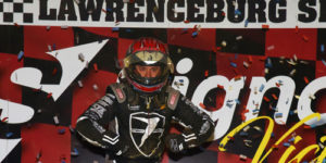 Bacon Romps to USAC Victory Lane at Lawrenceburg